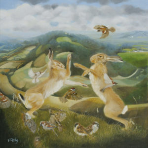 Boxing Hares and Tumbling Sparrows